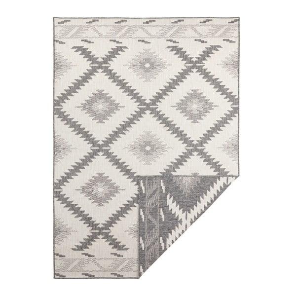 Szaro-kremowy dywan odpowiedni na zewnątrz Bougari Malibu, 230x160 cm