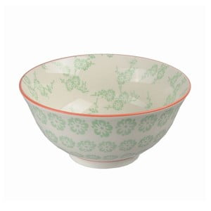 Porcelánová miska Tayo Green, 15,5x7 cm