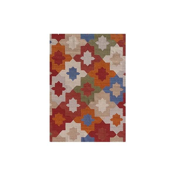 Vlněný koberec Kilim No. 702, 155x240 cm