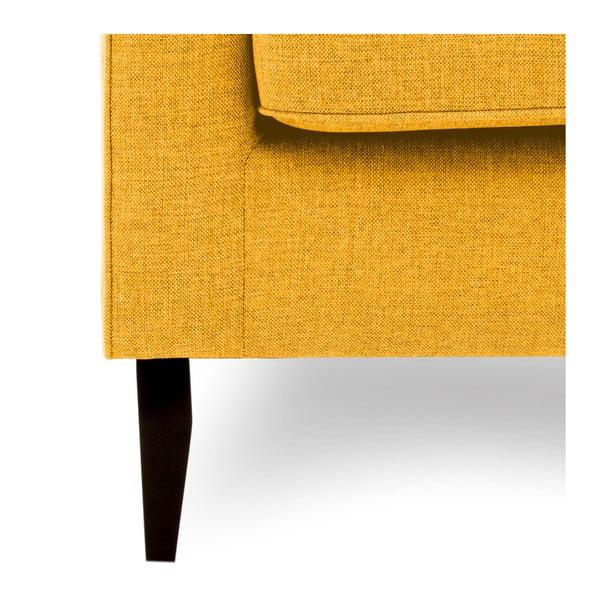 Canapea cu 2 locuri Vivonita Bond, galben
