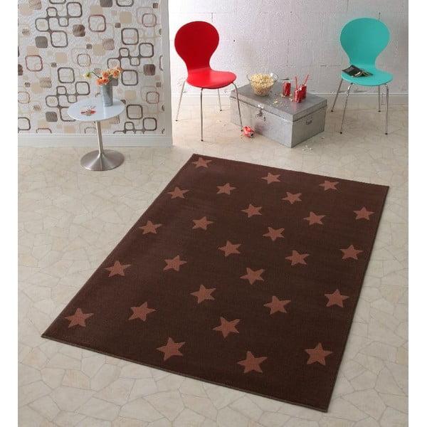Dětský hnědý koberec Hanse Home Stars, 140x200 cm