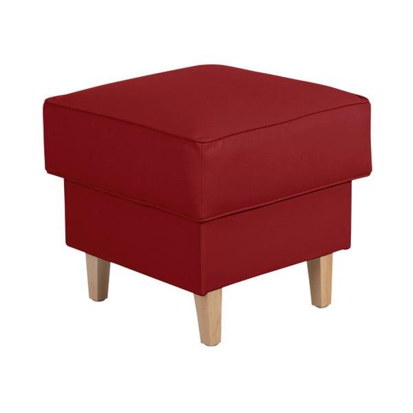 Červená podnožka Max Winzer Lorris Leather Chili