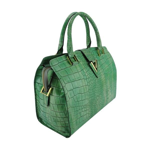 Kožená kabelka Valentina Green