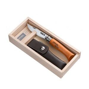Opinel nůž VR N°08 Carbon v dárkovém balení