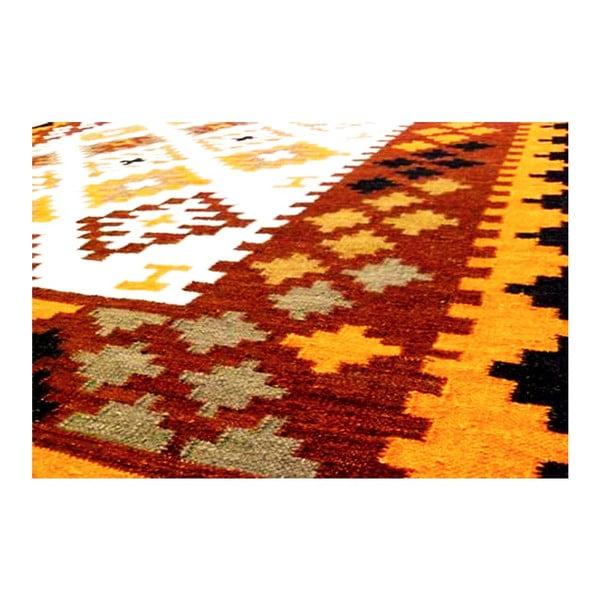 Ručně tkaný koberec Kilim Mix Colour, 200x300 cm