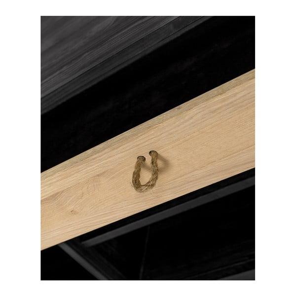 Komoda z borovicového a dubového dřeva se zásuvkou Askala Nautic