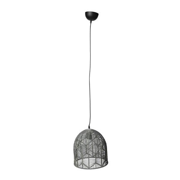 Stropní svítidlo Toile Grey, 30x35 cm