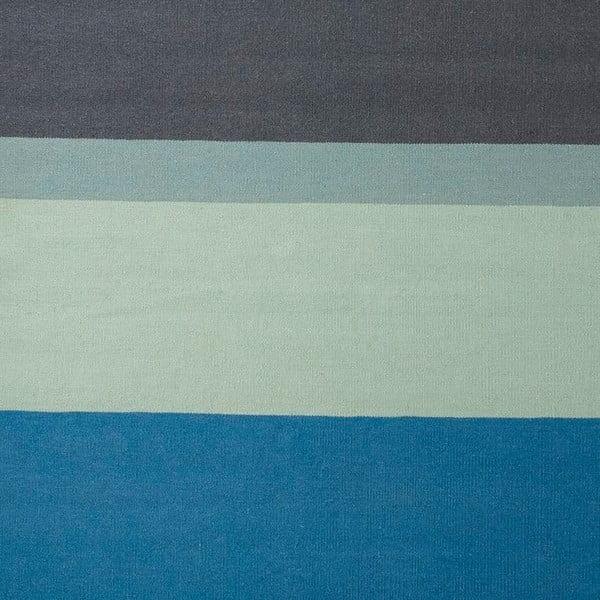Vlněný koberec Lux Blue, 170x240 cm