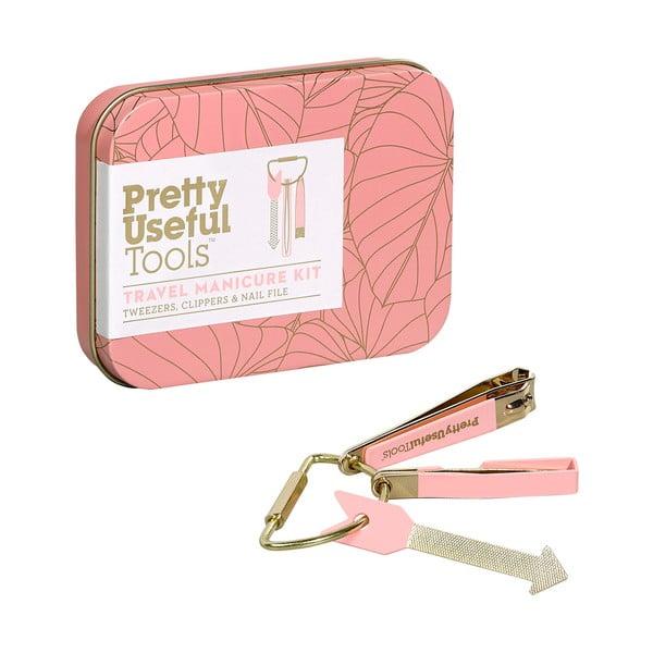 Cestovní manikúrní set Pretty Useful Tools Sunset Pink