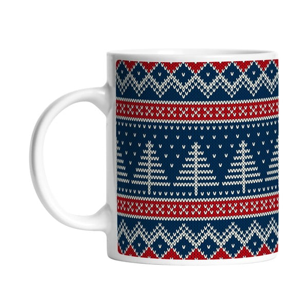 Hrnek Knitted Mug, 330 ml