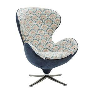 Fotoliu Kare Design Surprise, gri-albastru