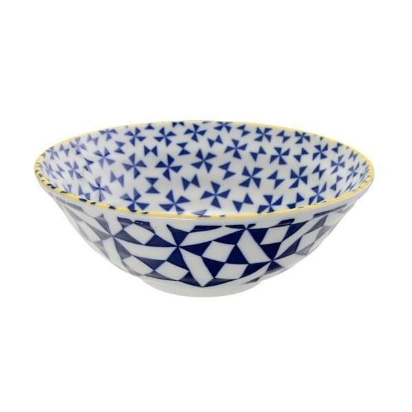 Porcelánová miska Geo Noodle Orient, 21x7,8 cm