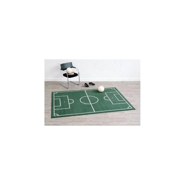 Dětský zelený koberec Hanse Home Hřiště,160x230cm
