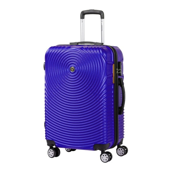 Fialový kufr na kolečkách Murano Traveller, 65 x 40 cm