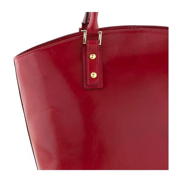 Kožená kabelka Ore Diece Sassuolo, červená
