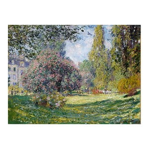 Tablou Claude Monet - Landscape The Parc Monceau, 80x60 cm