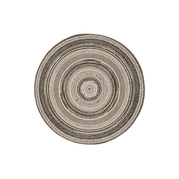 Covor pentru exterior Universal Verdi, ⌀ 120 cm, gri