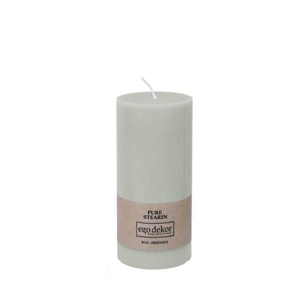 Lumânare Baltic Candles Eco, înălțime 15 cm, turcoaz