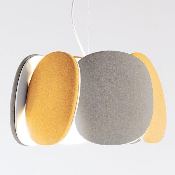 Stropní světlo Bloemi Goose Beak Orange/Beige, 40 cm