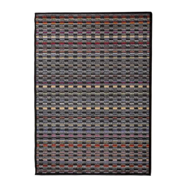 Šedý vysoce odolný koberec Floorita Optical Duro, 160 x 230 cm