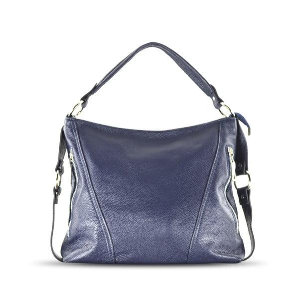 Kožená kabelka Anne, modrá