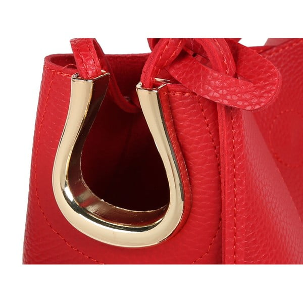 Červená kabelka Beverly Hills Polo Club Rita