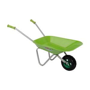 Dětské zelené kolečko na zahradu Esschert design