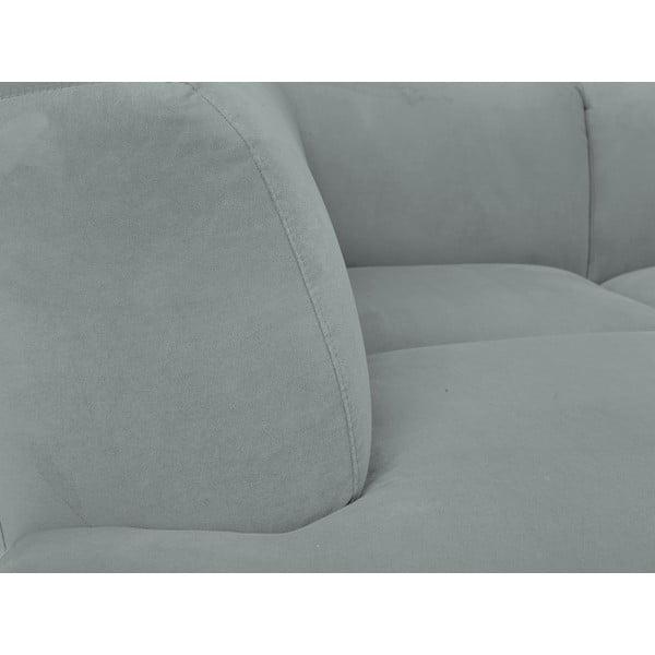 Šedá rohová pohovka Windsor & Co Sofas Orion, levý roh