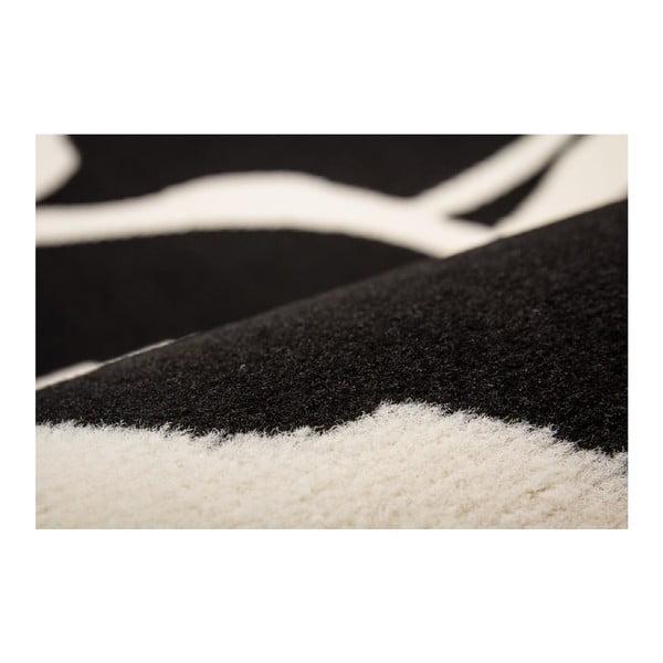 Koberec Saga 1634 Black, 120x170 cm