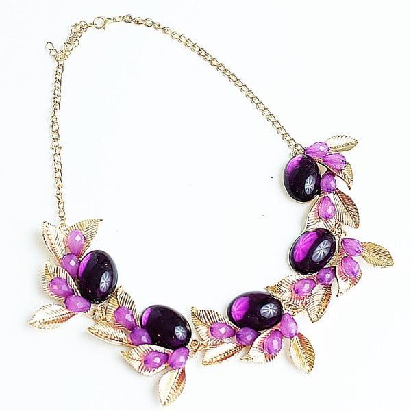 Náhrdelník Violet Flower