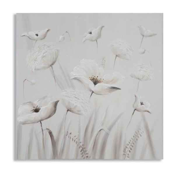 Poppy kézzel festett kép, 80 x 80 cm - Mauro Ferretti