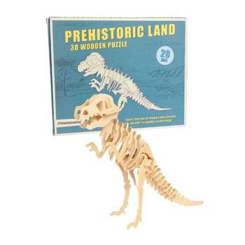Puzzle 3D din lemn s Rex London Tyrannosaurus de la Rex London