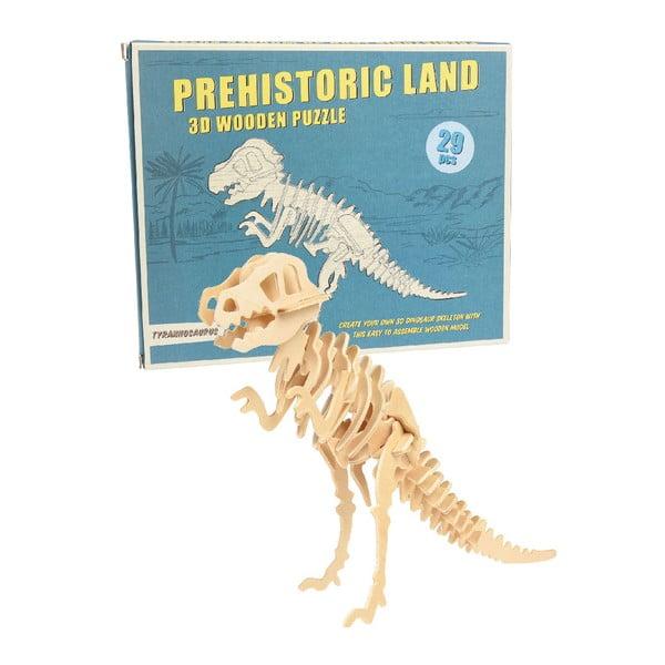 Drewniane 3D puzzle dinozaur Rex London Tyrannosaurus