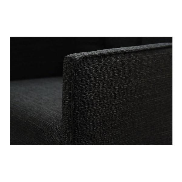 Scaun din lemn de fag Ted Lapidus Maison Freesia cu picioare maro închis, negru