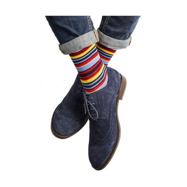 Sada 3 párů unisex ponožek Funky Steps Errita, velikost39/45