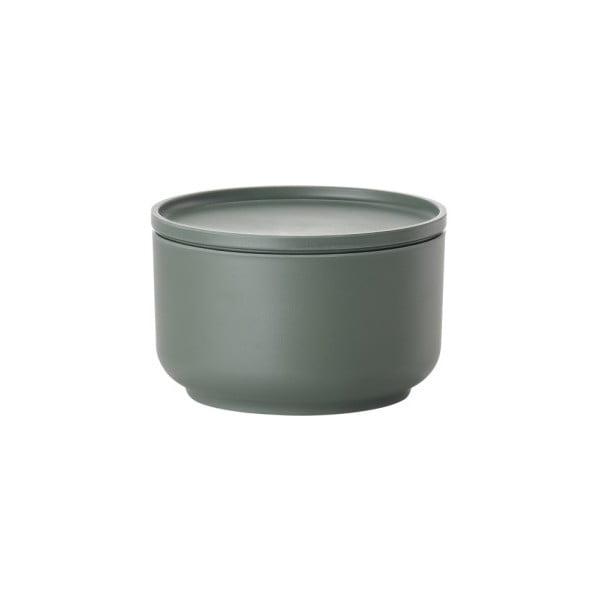 Zelená servírovací miska s víkem Zone Peili, 500 ml