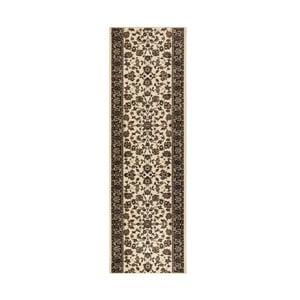 Koberec Basic Vintage, 80x200 cm, krémový