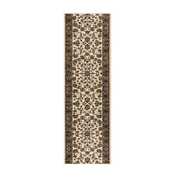 Covor Basic Vintage, 80x400 cm, crem