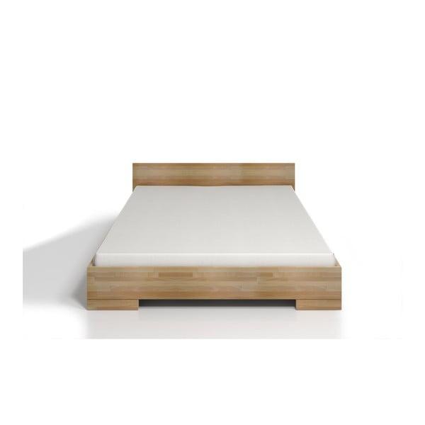 Pat dublu din lemn de fag, cu spațiu de depozitare, SKANDICA Spectrum Maxi, 160 x 200 cm