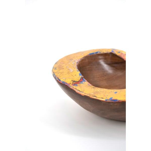 Teaková mísa Erosi, 20 cm