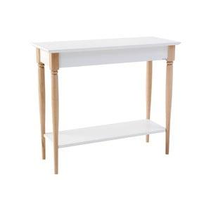 Bílý konzolový stolek Ragaba Mamo, šířka 85 cm