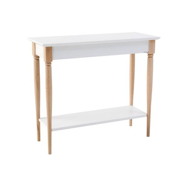 Mamo fehér konzolasztal, szélesség 85 cm - Ragaba