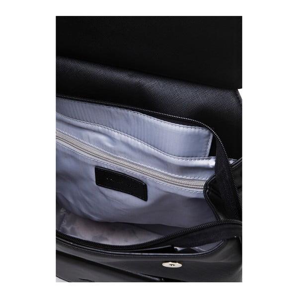 Kožený batoh Marta Ponti Aipee, černá