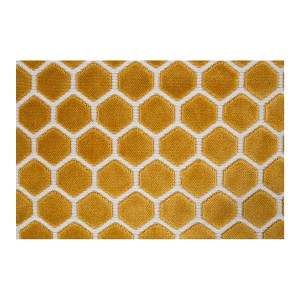 Žlutý polštář s výplní Zuiver Monty, 45x45cm