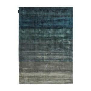 Ručně tkaný koberec Linie Design Shiny Petrol, 170x240cm