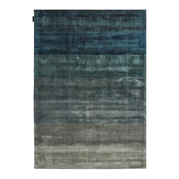 Ručně tkaný koberec Linie Design Shiny Petrol, 200x300cm