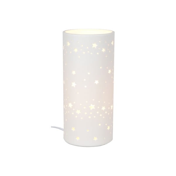 Keramická stolní lampička Stars, 20 cm