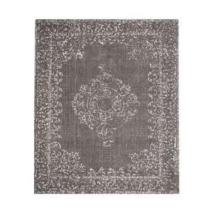 Šedý bavlněný koberec LABEL51 Vintage, 230x160cm