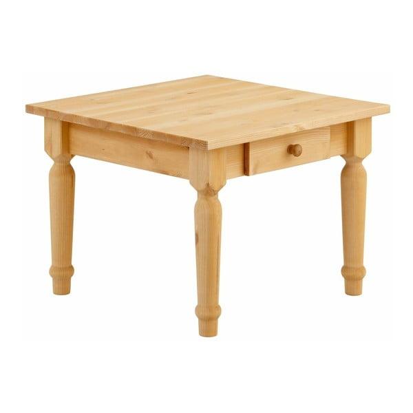 Konferenční stůl se šuplíky z masivního borovicového dřeva Støraa Normann S