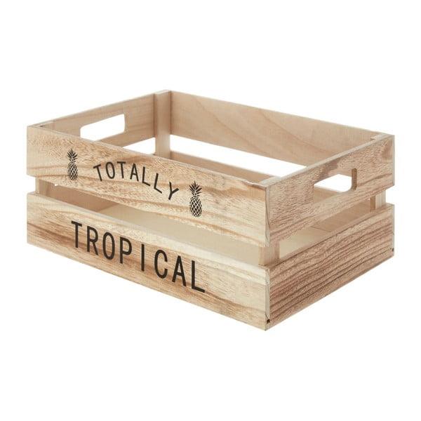 Tropical fa tárolódoboz, 25 x 35 cm - Premier Housewares